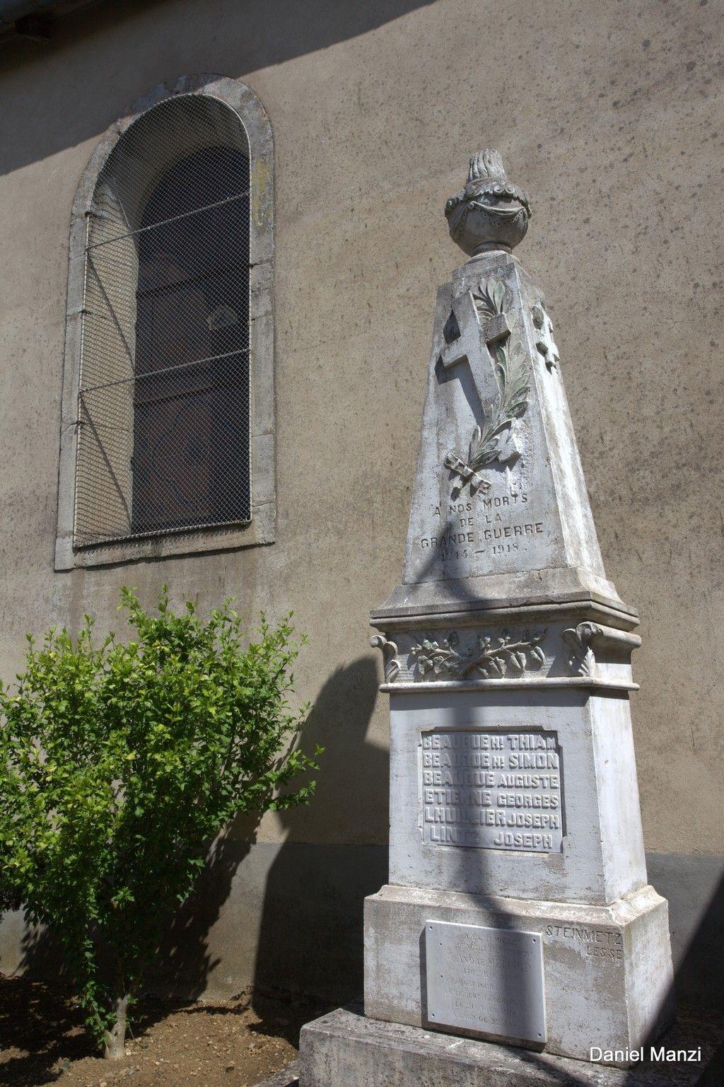 Necropole nationale de chicourt lorraine tourisme for Haute kontz lorraine