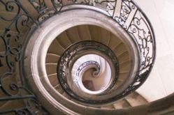 Escalier rond- Abbaye des Prémontrés