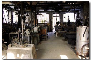 L'atelier mécanique - ECOMUSEE LE BATTANT